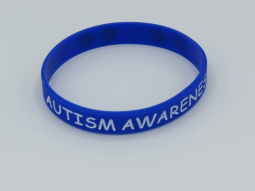 Autism Awareness Wristband front