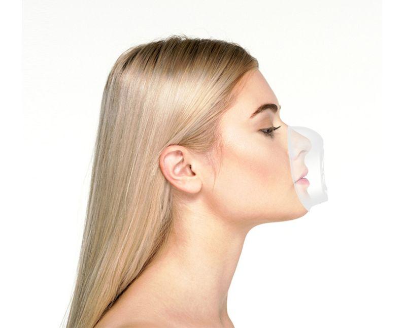 Woman wearing MaskFit
